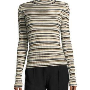 Chloe stripe turtleneck NWT long style by Tahari